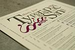 34 Typographic Sins Poster